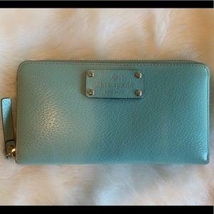 Kate Spade Full ZIP Leather Wallet